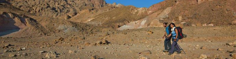 hiking the israel national trail