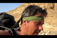 Aldis Tilens trek in the Negev desert, Israel, part 1.