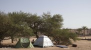 Camping in Timna Park's Lake